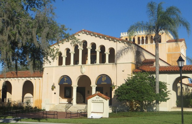 Annie Russell Theatre at Rollins College. Preview Orlando theatres and cultural centers at AboutOrlando.