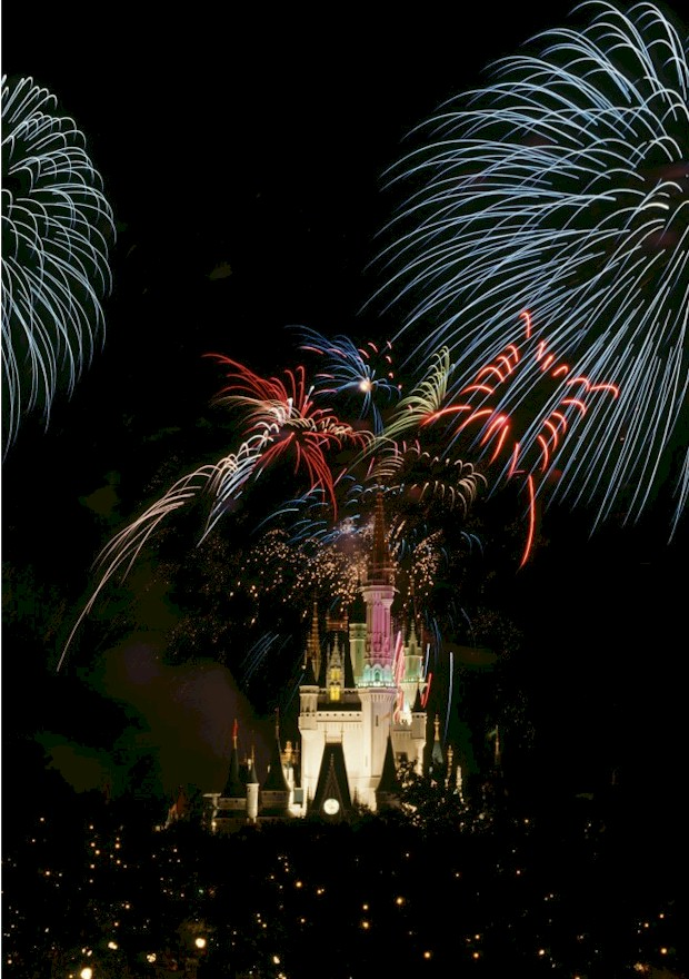 Independence Day celebrations in Orlando. Fireworks at Disney over the Magic Kingdom for the Fourth of July. More on where to find fireworks in Orlando, visit AboutOrlando.com