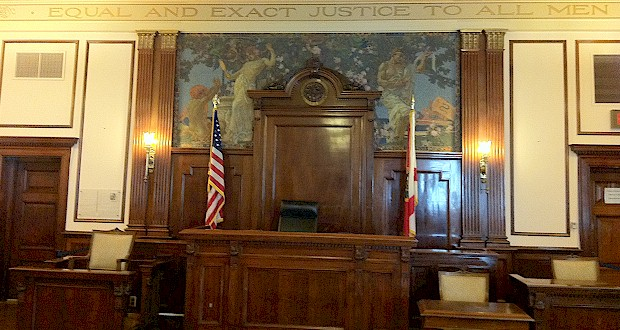 Orange County Regional History Center historic courtroom.  MORE: AboutOrlando.com