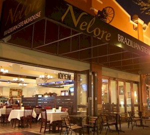 Nelore Churrascaria, Orlando Steakhouse, Churrascaria Restaurants Orlando.  All you can eat grilled steak, chicken, pork, lamb and food bar.  Top Orlando Brazilian Steakhouses