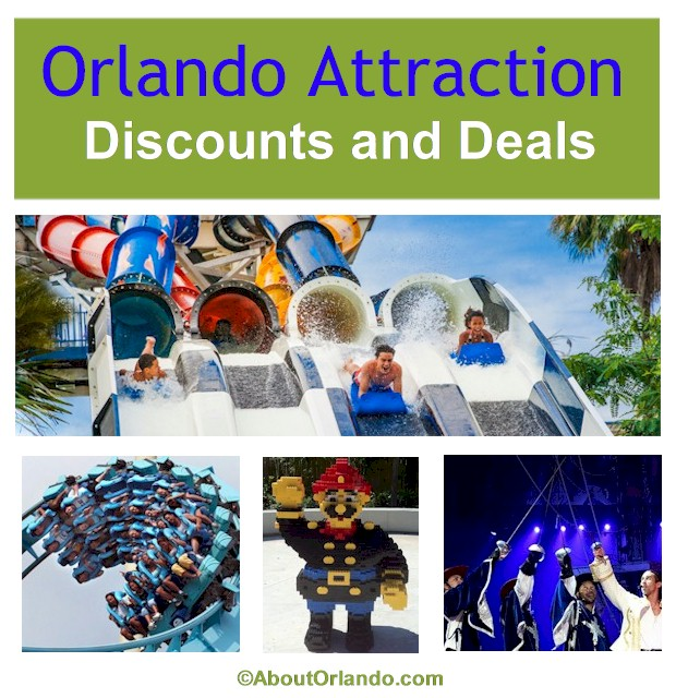 #OrlandoDiscounts #FloridaResident Current discounts and deals at Orlando Theme Parks, Water Parks, Museums and Orlando Dinner shows.