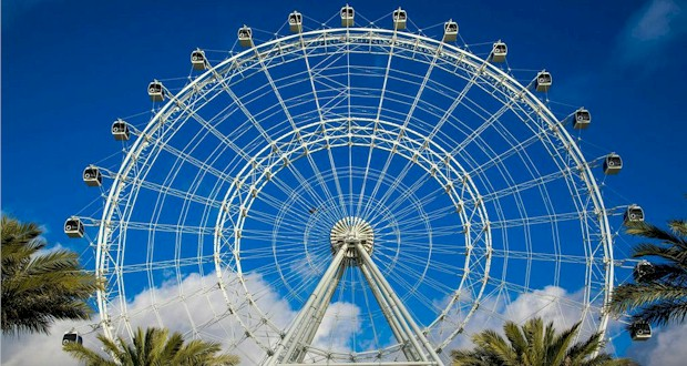 The Orlando Eye at I-Drive 360 on International Drive. See Orlando as you've never viewed it before.
