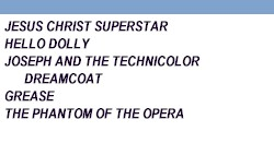 Broadway in Orlando 1994 - 1995 Season at the Bob Carr from AboutOrlando.com