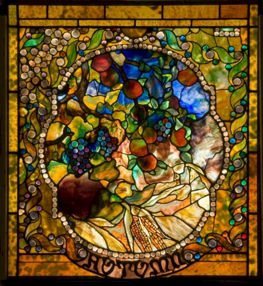 Charles Hosmer Morse Museum of American Art Four Seasons Windows, Autumn Window. More November events in Orlando