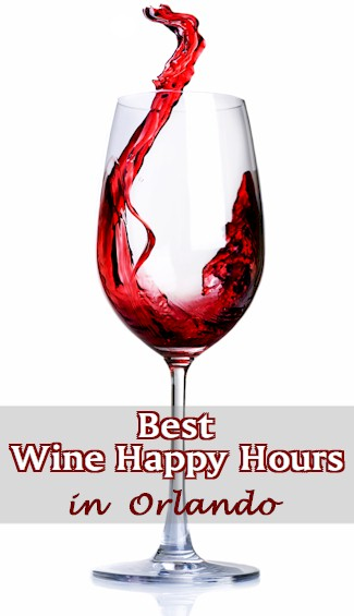 Where are the Wine Happy Hours in Orlando? Find where you can get discounted wine by the glass or by the bottle seven days a week.