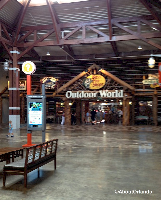 Bass Pro Shops at Artegon Marketplace on International Drive, Orlando