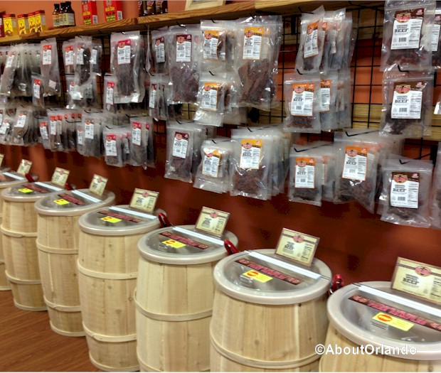 Beef Jerky Outlet  at Artegon Marketplace on International Drive, Orlando