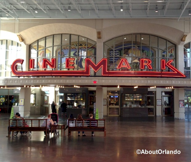 Cinemark Movie Theater  at Artegon Marketplace on International Drive, Orlando