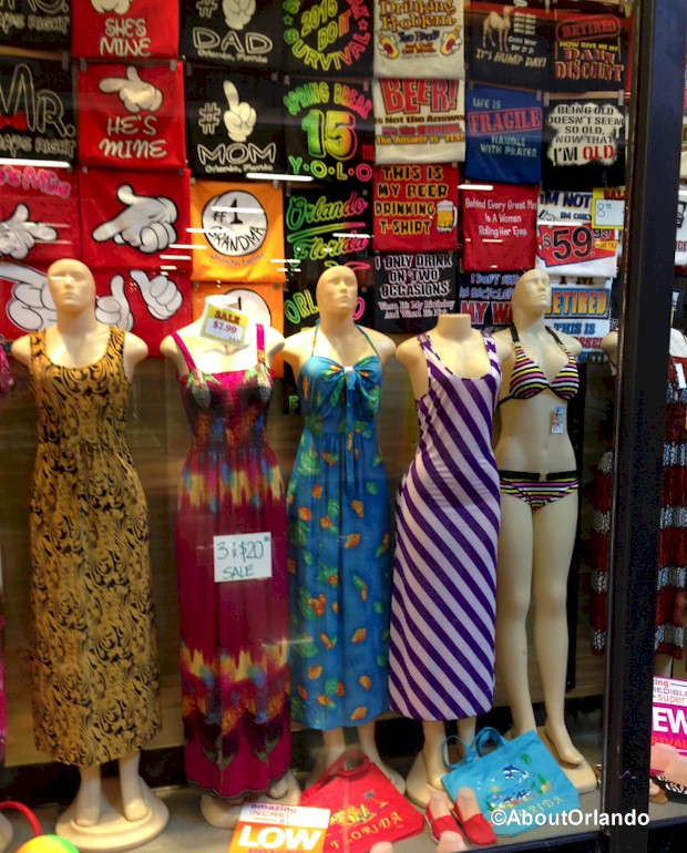Gusi Souvenirs - Discount dresses  at Artegon Marketplace on International Drive, Orlando