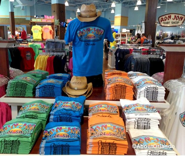 Ron Jon's Surf Shop at the Village of Artegon Marketplace on International Drive, Orlando