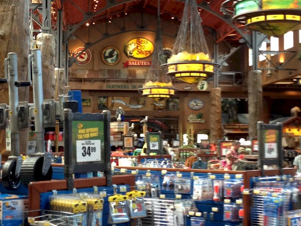 Boating Department at Bass Pro Shops Orlando
