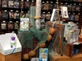 Creative outdoor displays at Bass Pro Shops Orlando