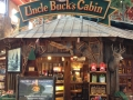 Visit Uncle Bucks Log cabin within Bass Pro Shops Orlando