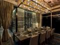 Private dining table at Del Frisco's in Orlando