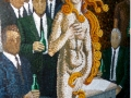 Nude Nite Mosaic Art