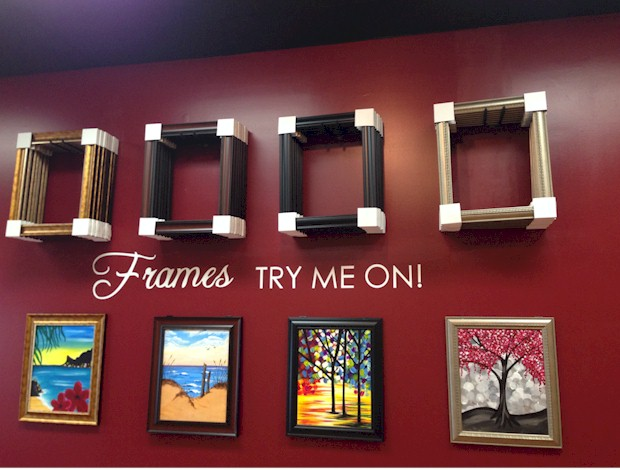 Frames available for sale