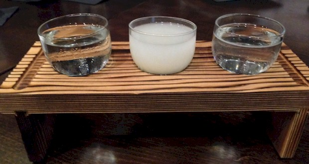 RA Sake Flight 8 - Three 2 oz pours of Saki