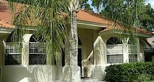 Sunny Florida home.  Sweetwater Island, Seminole County Florida.