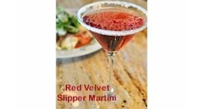 Red Velvet Slipper Martini