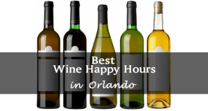 Orlando's best Wine Happy Hour deals.  Discounted wine by the glass or by the bottle.